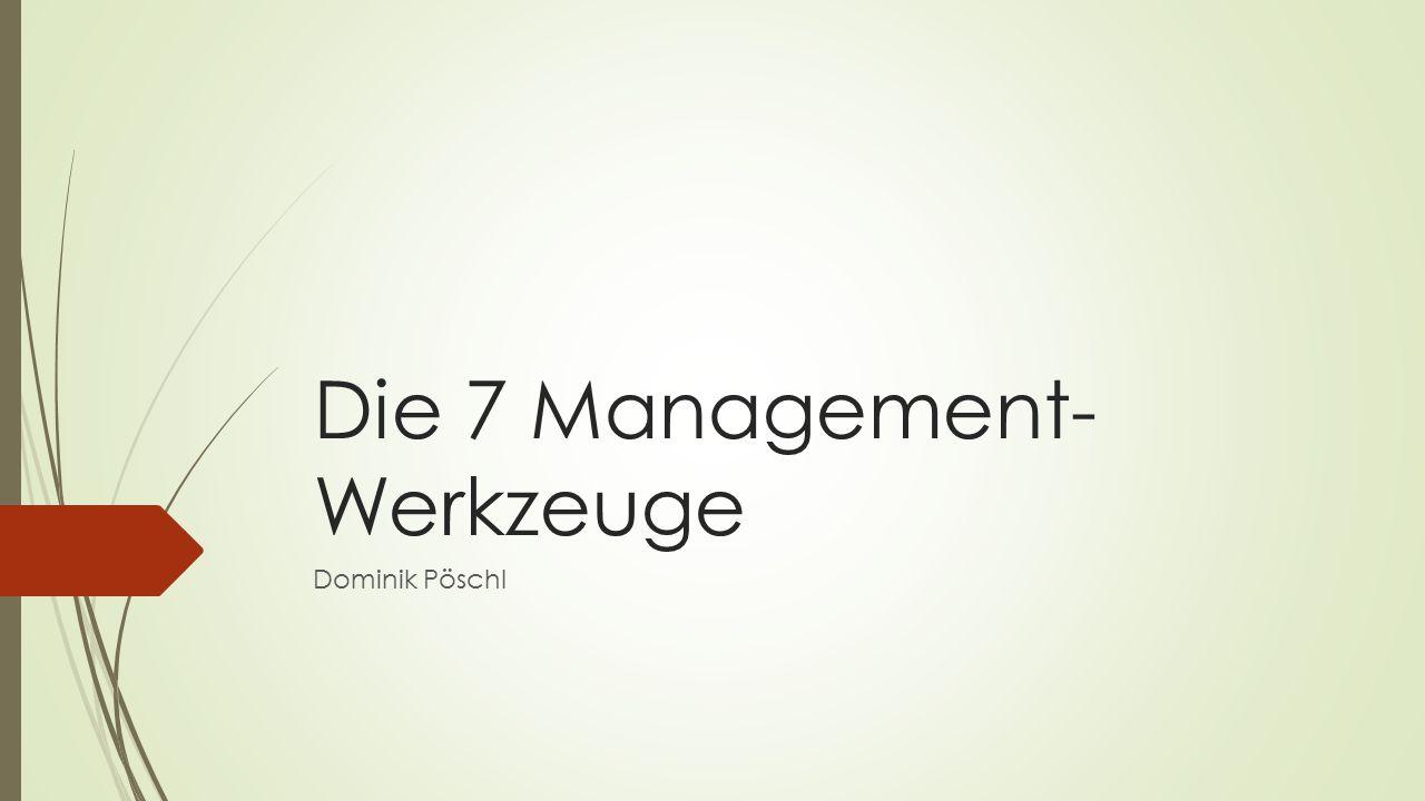 Die 7 Management-Werkzeuge