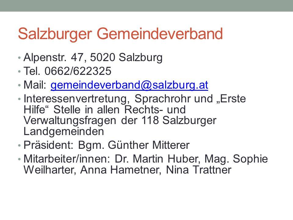 Salzburger Gemeindeverband