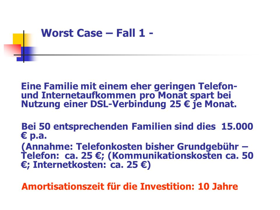 Worst Case – Fall 1 -