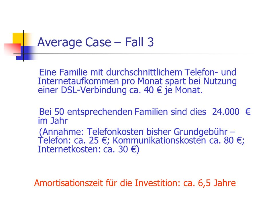 Average Case – Fall 3