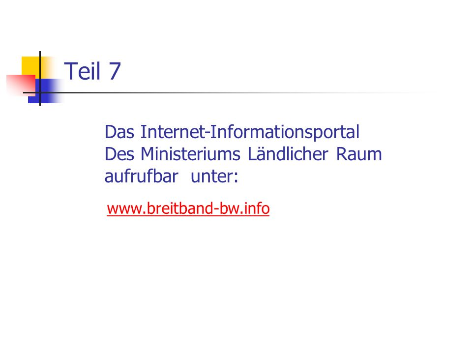 Teil 7 Das Internet-Informationsportal