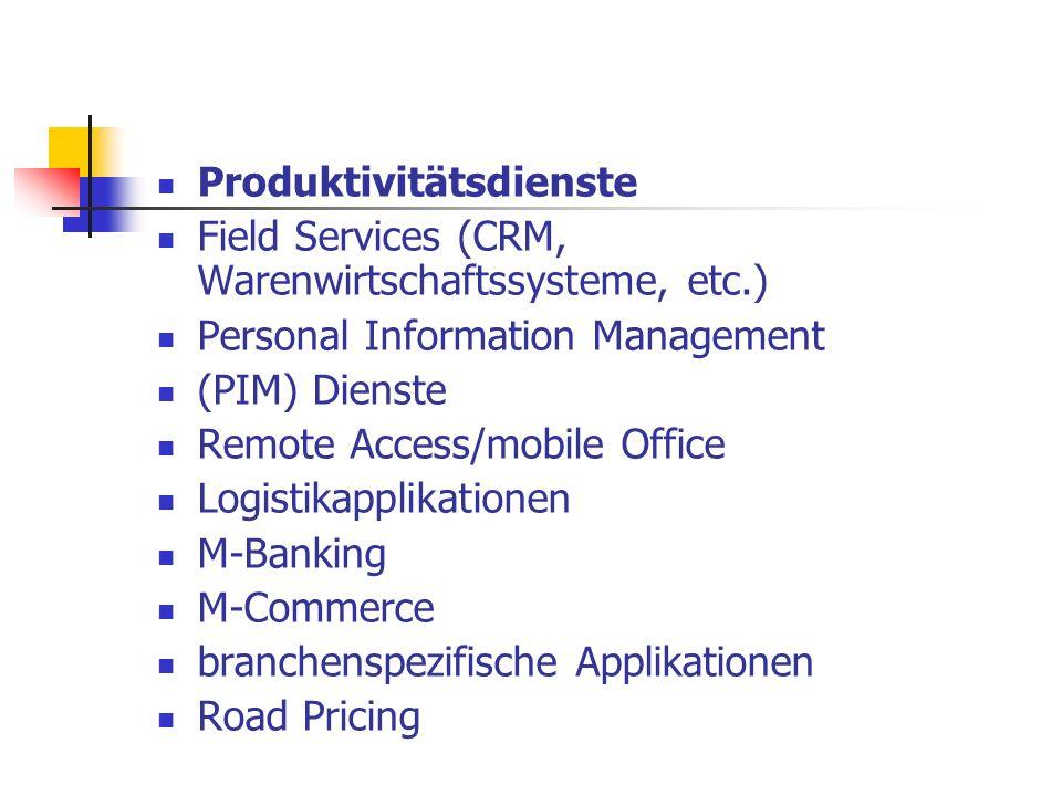 Produktivitätsdienste