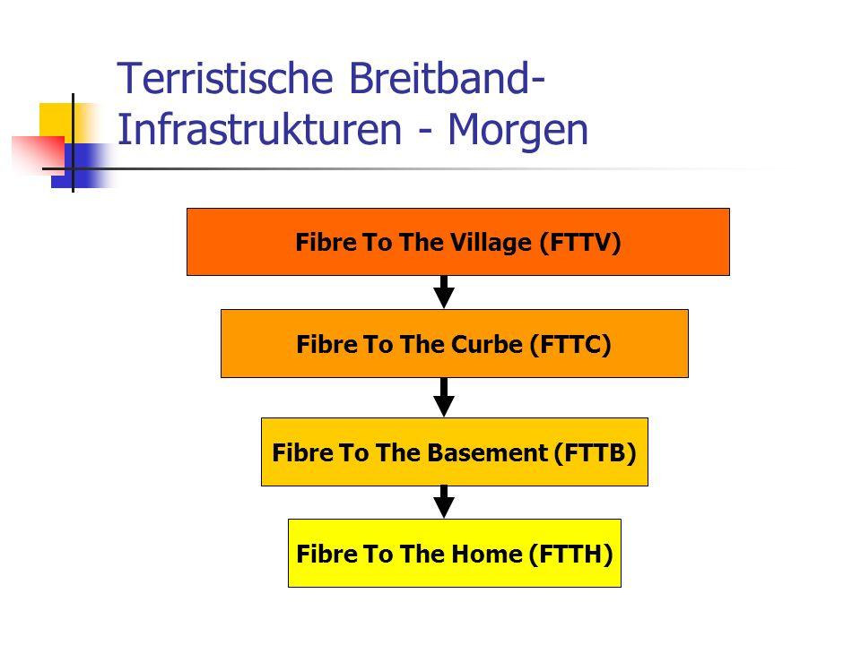 Terristische Breitband-Infrastrukturen - Morgen