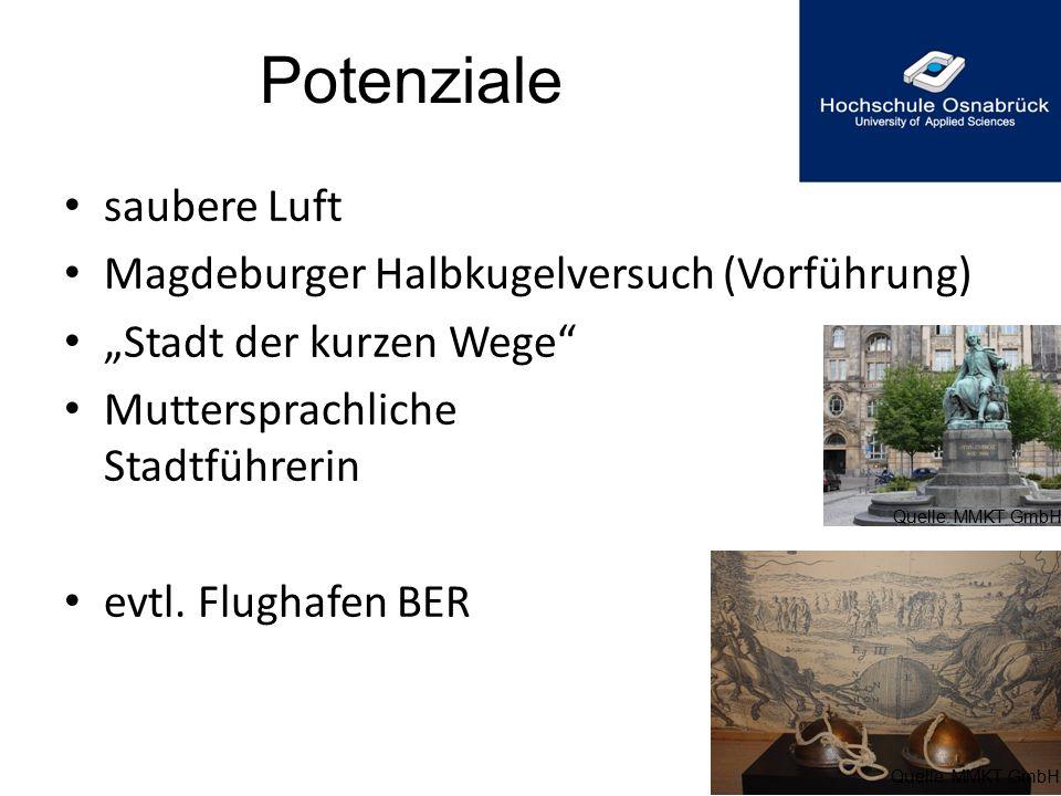 Potenziale saubere Luft Magdeburger Halbkugelversuch (Vorführung)