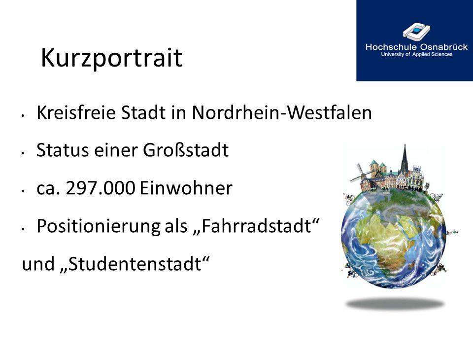 Kurzportrait Kreisfreie Stadt in Nordrhein-Westfalen
