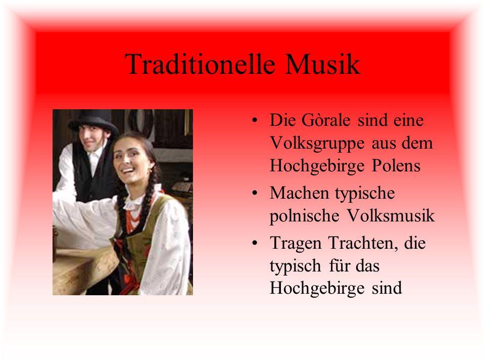 Traditionelle Musik Die Gòrale sind eine Volksgruppe aus dem Hochgebirge Polens. Machen typische polnische Volksmusik.