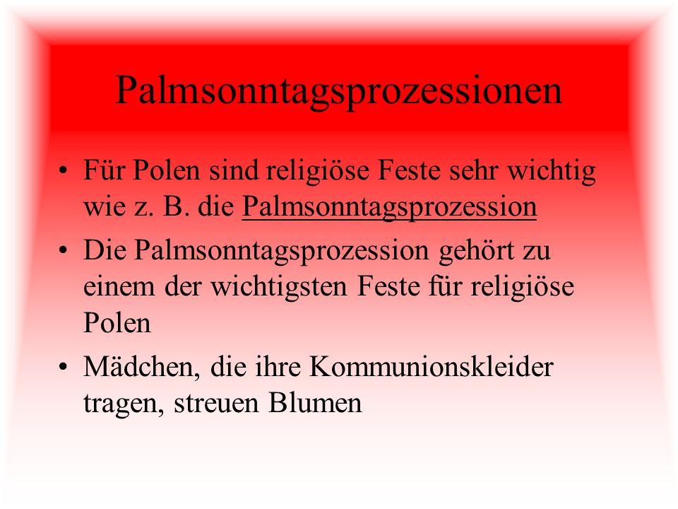 Palmsonntagsprozessionen