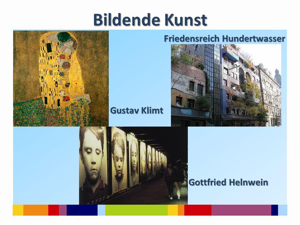 Bildende Kunst Friedensreich Hundertwasser Gustav Klimt Gottfried Helnwein
