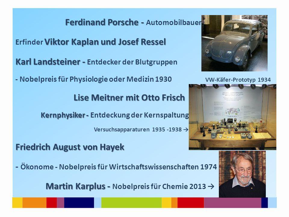 Ferdinand Porsche - Automobilbauer