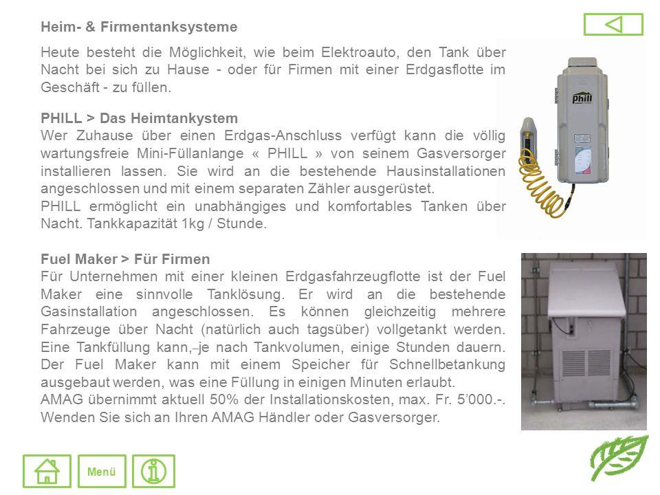 Heim- & Firmentanksysteme