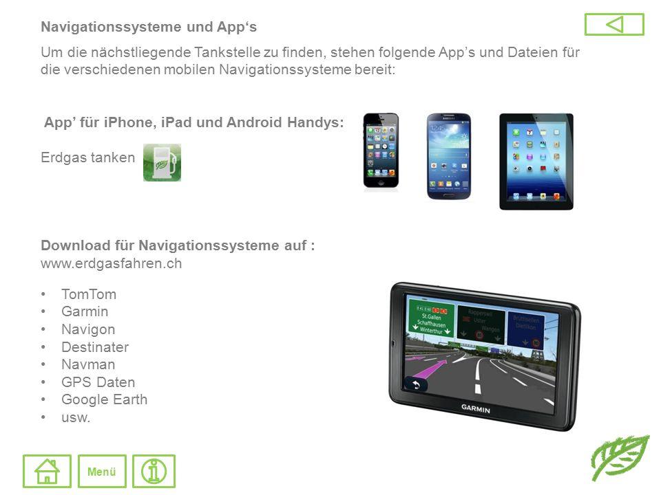 Navigationssysteme und App's