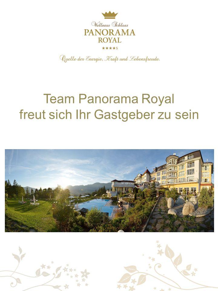 Team Panorama Royal freut sich Ihr Gastgeber zu sein