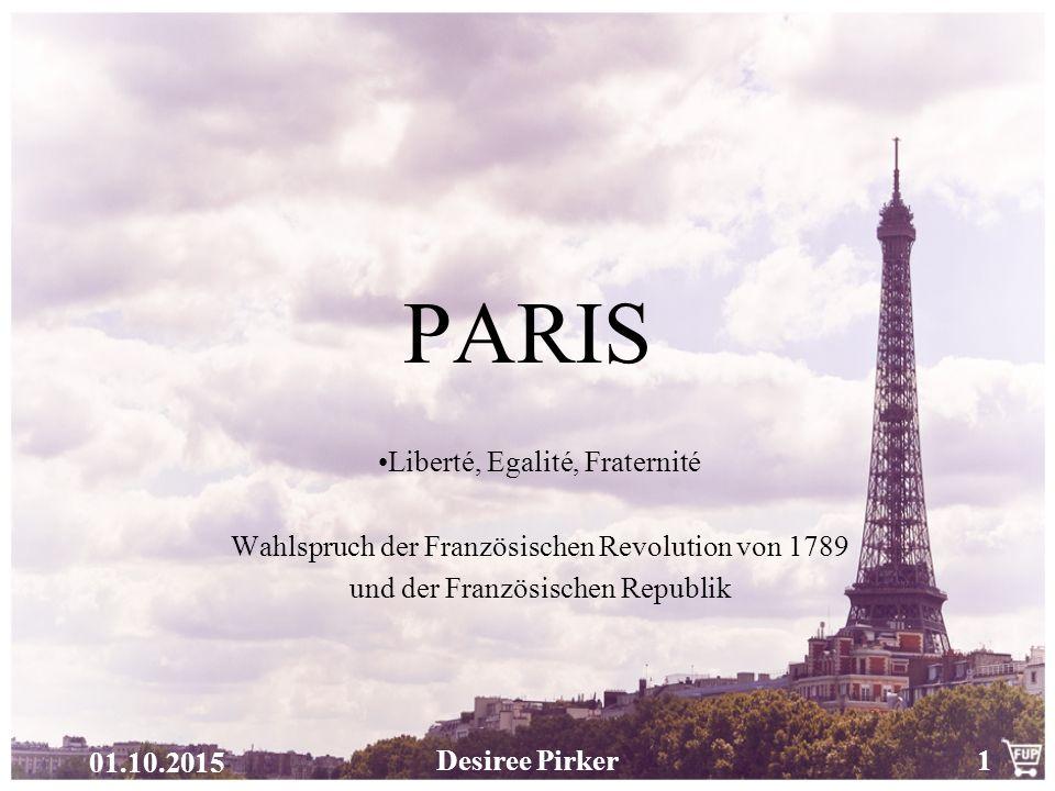 PARIS Liberté, Egalité, Fraternité