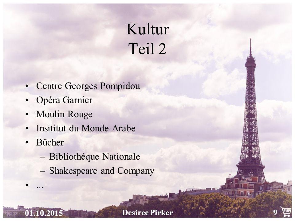 Kultur Teil 2 Centre Georges Pompidou Opéra Garnier Moulin Rouge