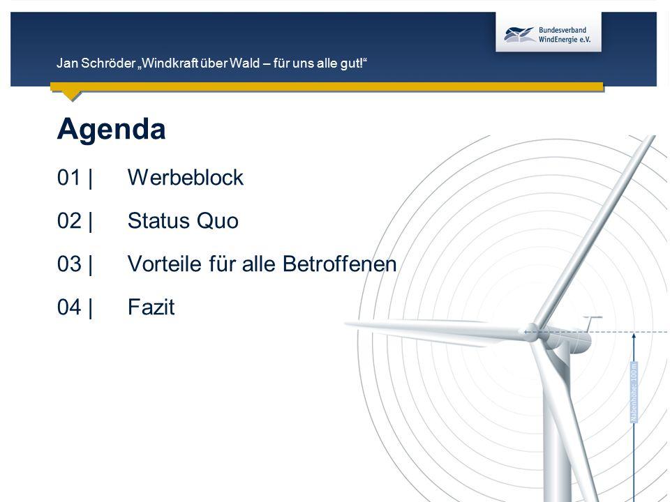 """Jan Schröder """"Windkraft über Wald – für uns alle gut!"""