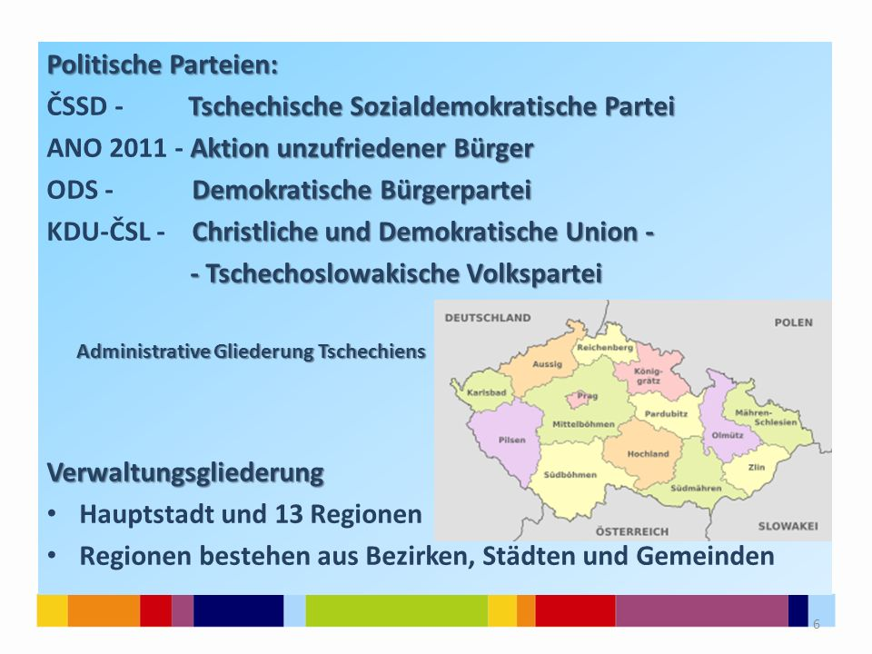 ČSSD - Tschechische Sozialdemokratische Partei