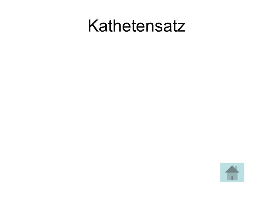 Kathetensatz