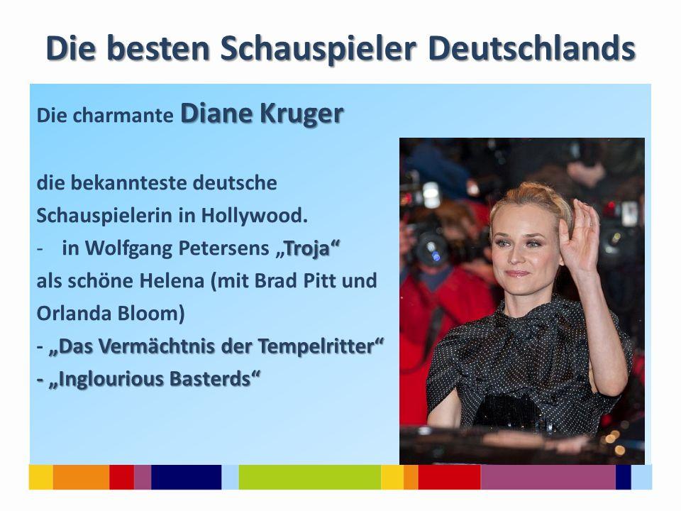 Die besten Schauspieler Deutschlands