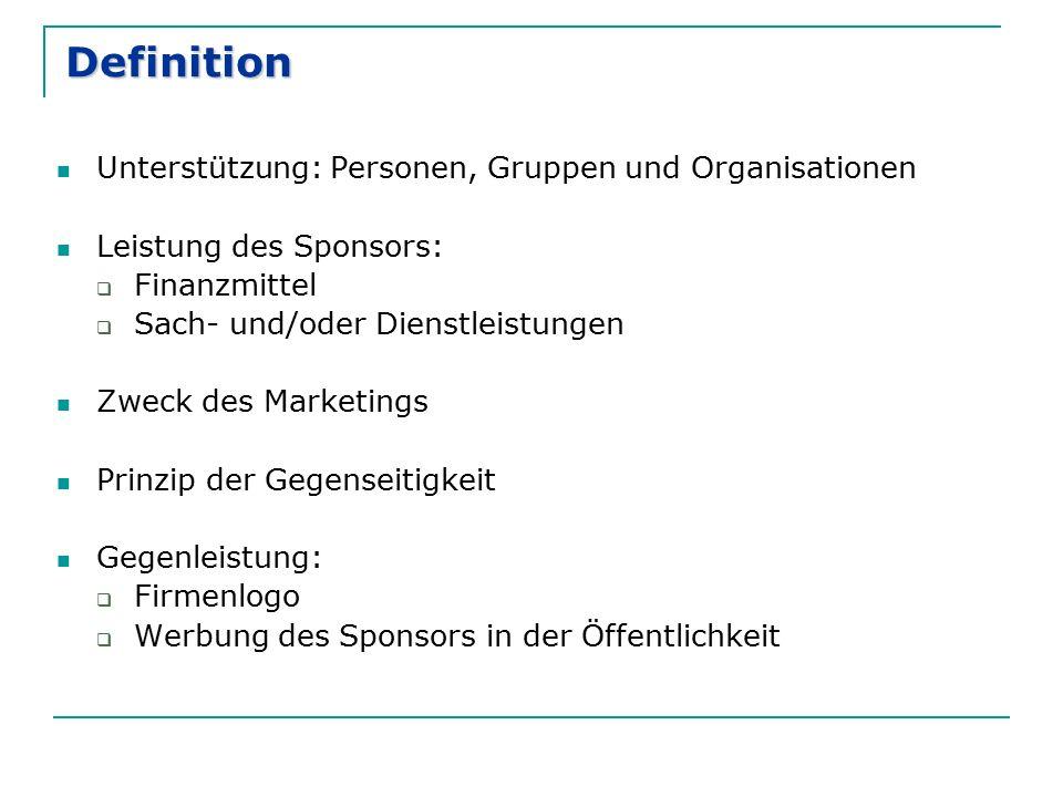 Definition Unterstützung: Personen, Gruppen und Organisationen