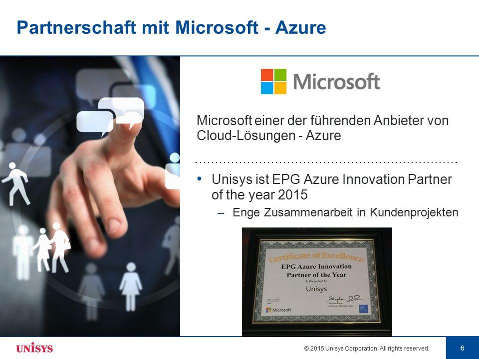 Partnerschaft mit Microsoft - Azure