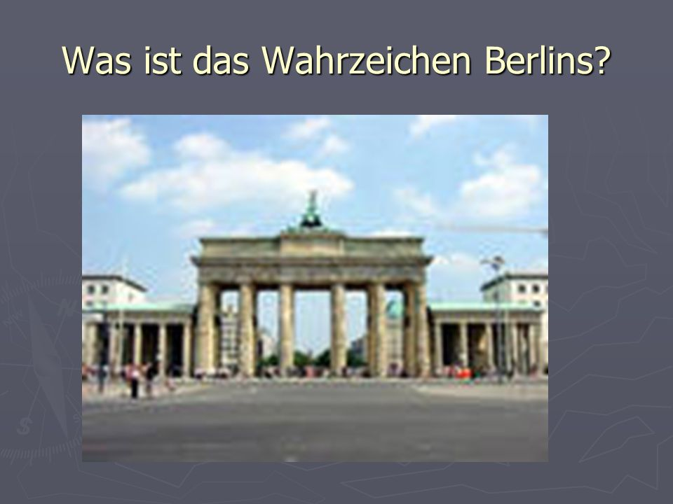 Was ist das Wahrzeichen Berlins