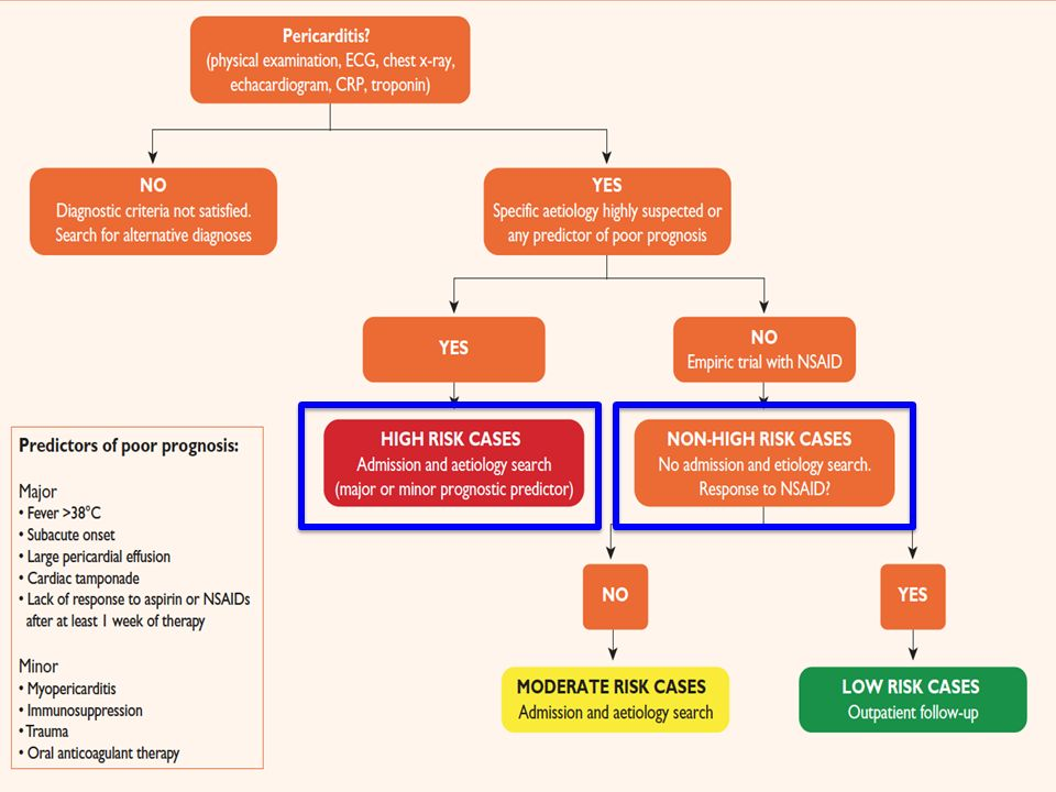 Hinweise für Systemerkrankung oder mindestens ein Major-Kriterium: Hospitalisation!