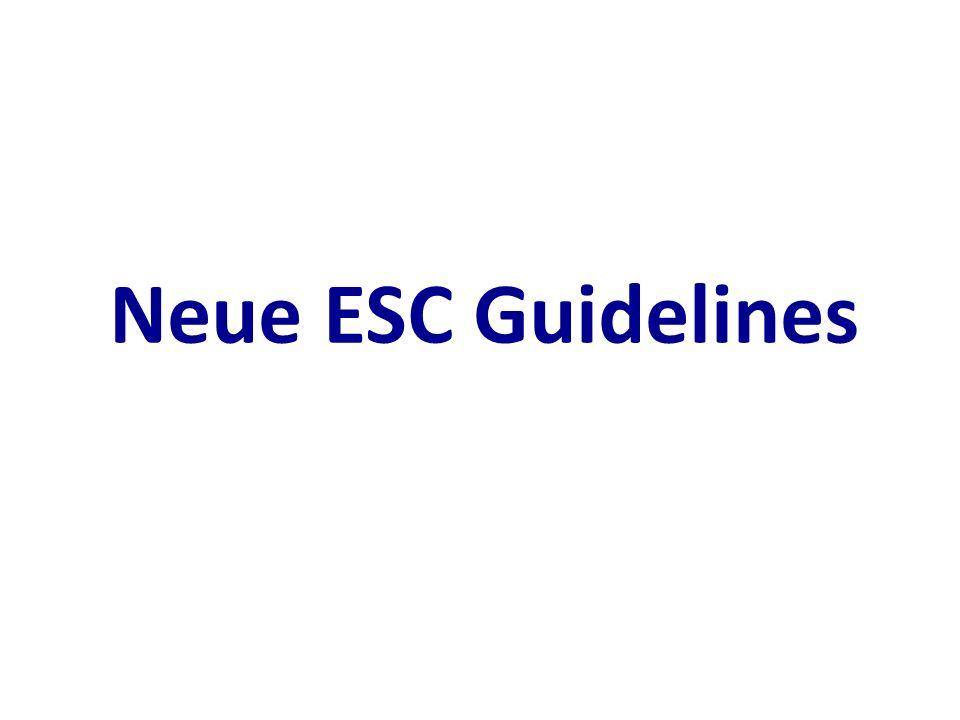 Neue ESC Guidelines