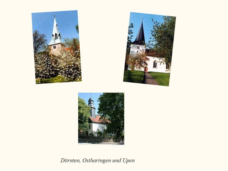 Dörnten, Ostharingen und Upen