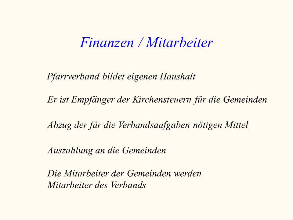 Finanzen / Mitarbeiter