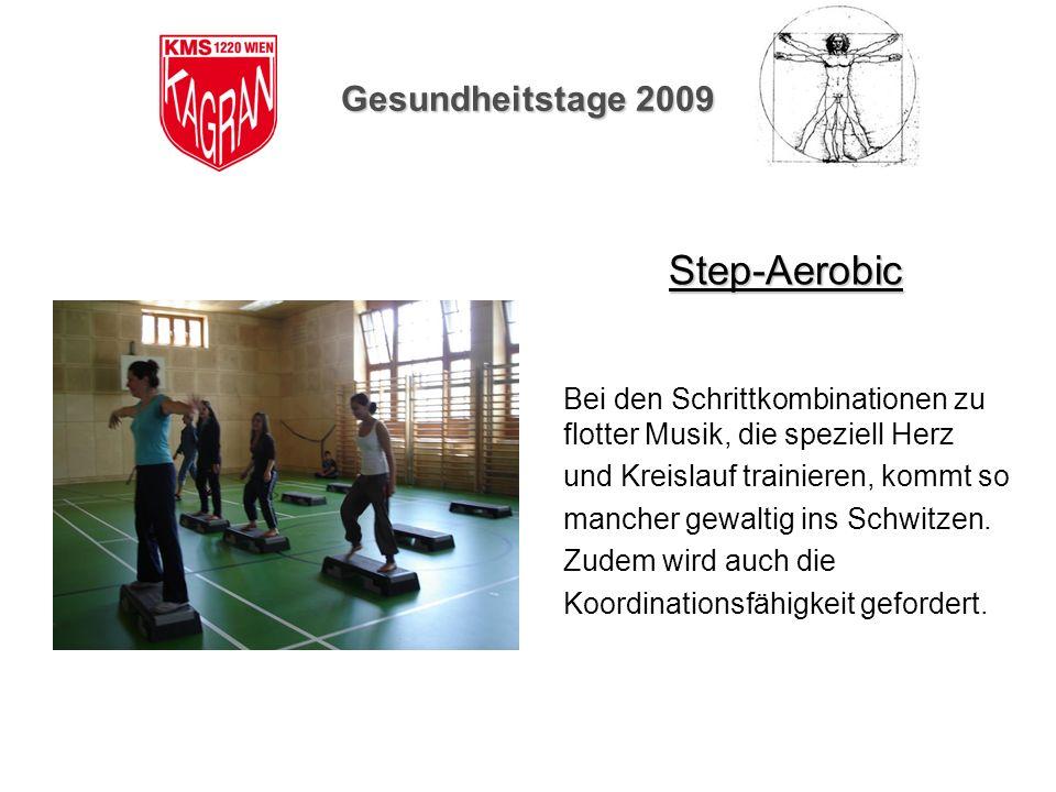 Step-Aerobic Gesundheitstage 2009