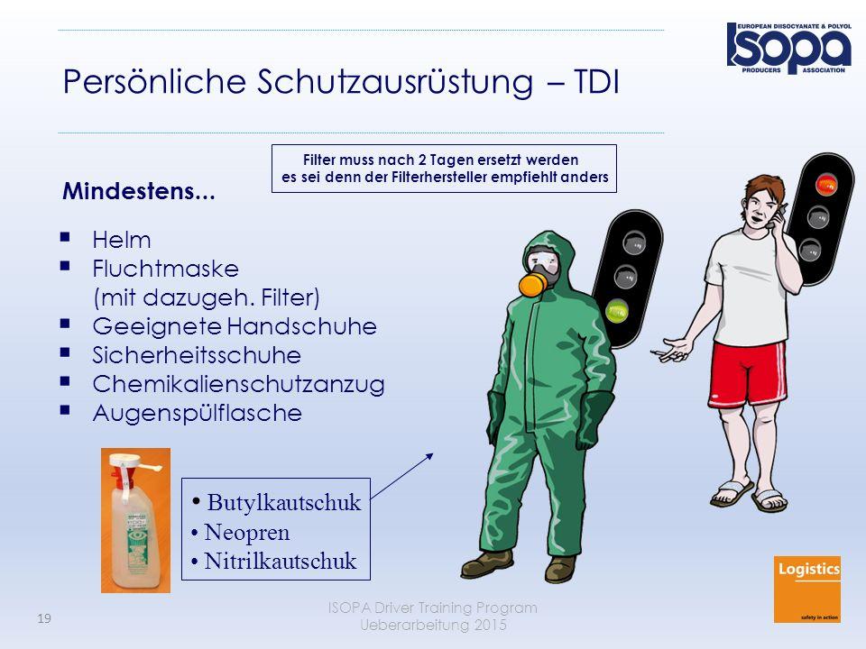 Persönliche Schutzausrüstung – TDI