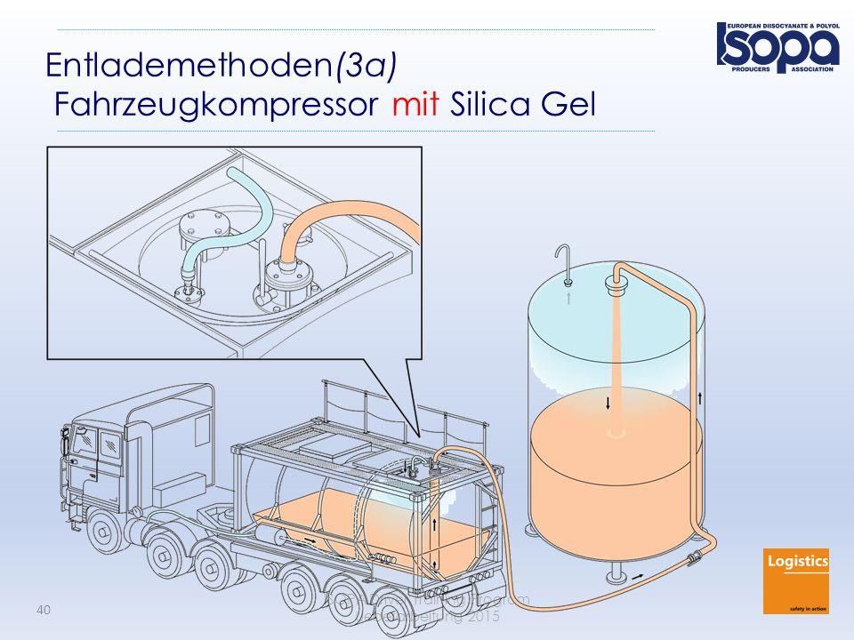 Entlademethoden(3a) Fahrzeugkompressor mit Silica Gel