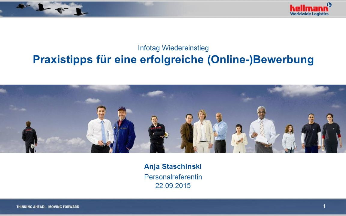 Anja Staschinski Personalreferentin 22.09.2015