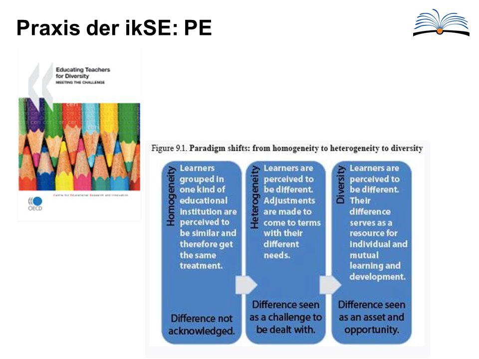 Praxis der ikSE: PE
