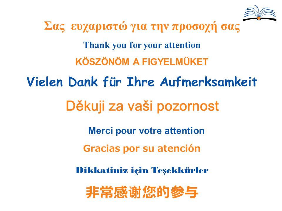 Děkuji za vaši pozornost