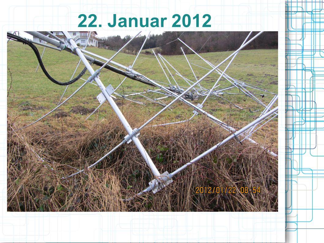 22. Januar 2012