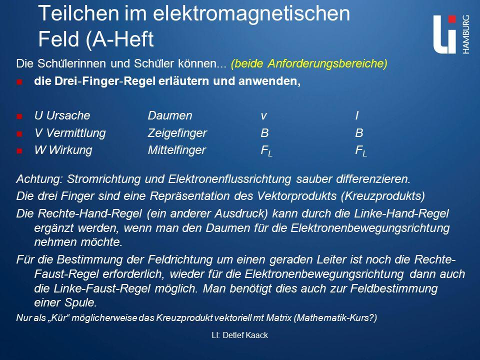 Teilchen im elektromagnetischen Feld (A-Heft