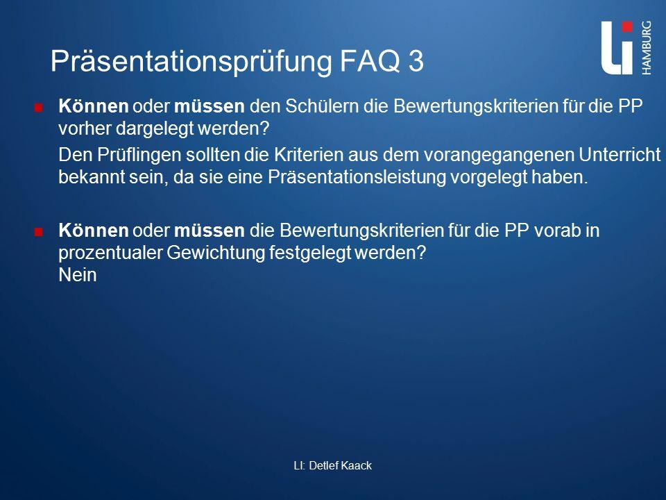 Präsentationsprüfung FAQ 3