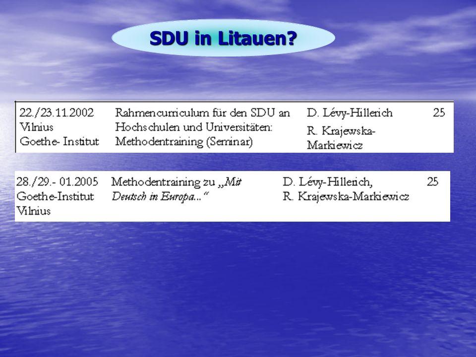 SDU in Litauen