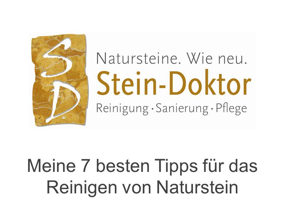 Meine 7 besten Tipps für das Reinigen von Naturstein