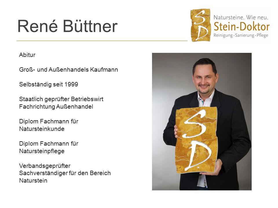 René Büttner Abitur Groß- und Außenhandels Kaufmann