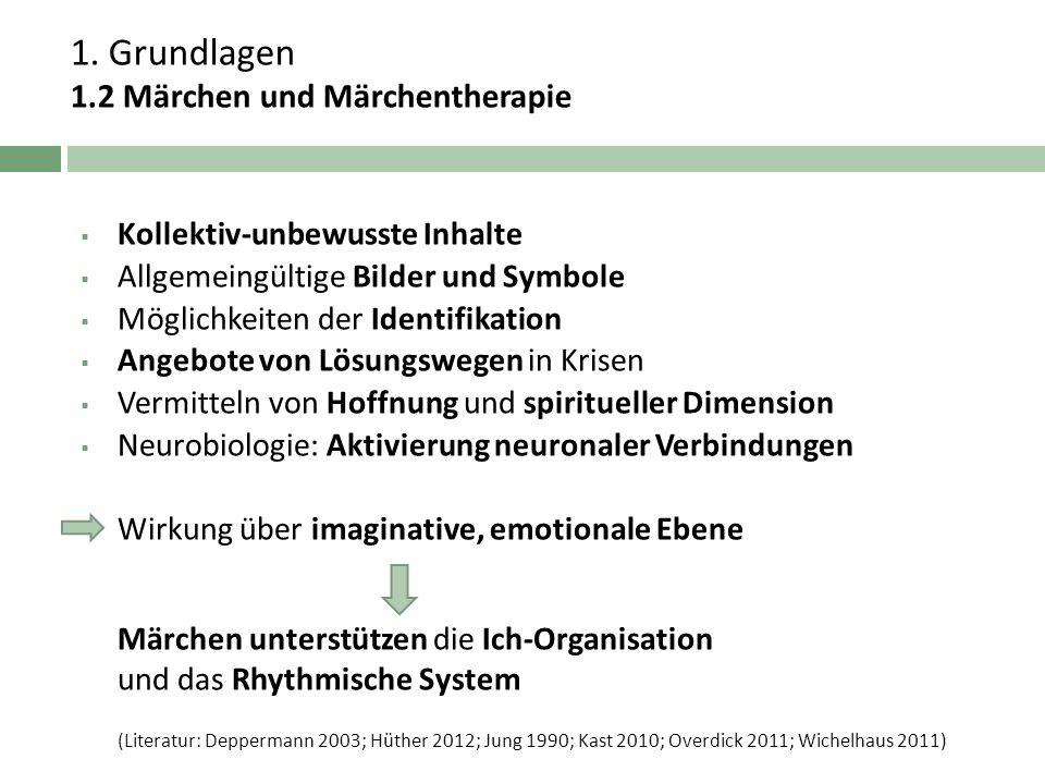 1. Grundlagen 1.2 Märchen und Märchentherapie