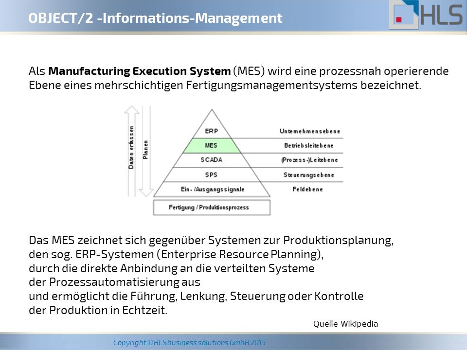 OBJECT/2 -Informations-Management