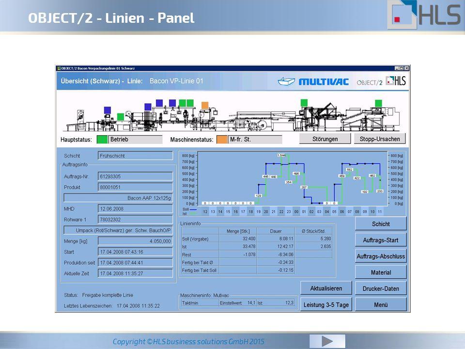OBJECT/2 - Linien - Panel