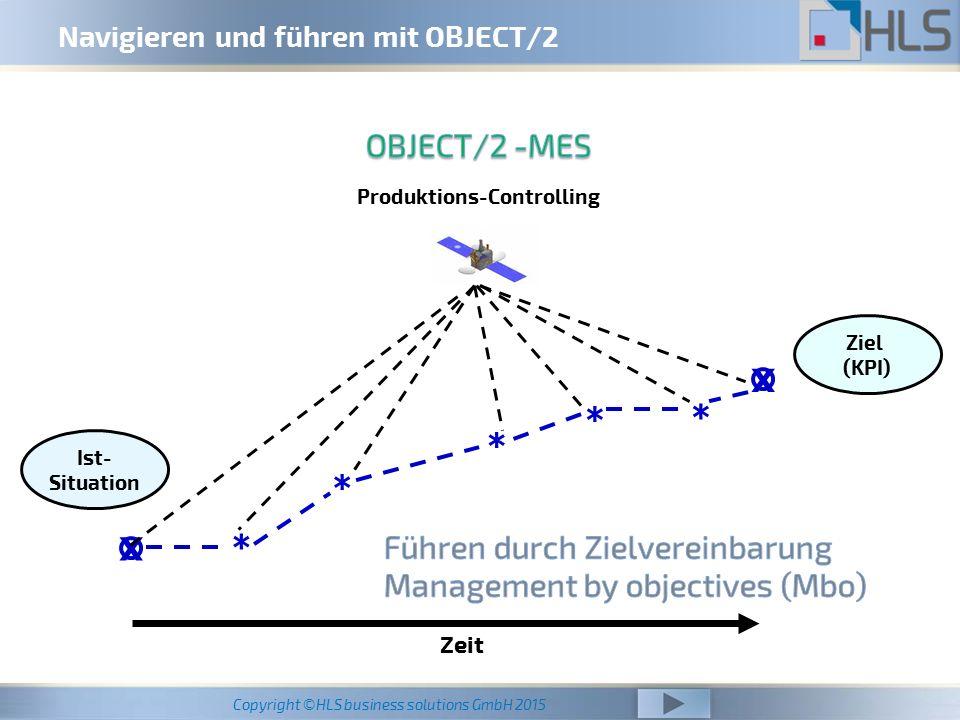 Navigieren und führen mit OBJECT/2