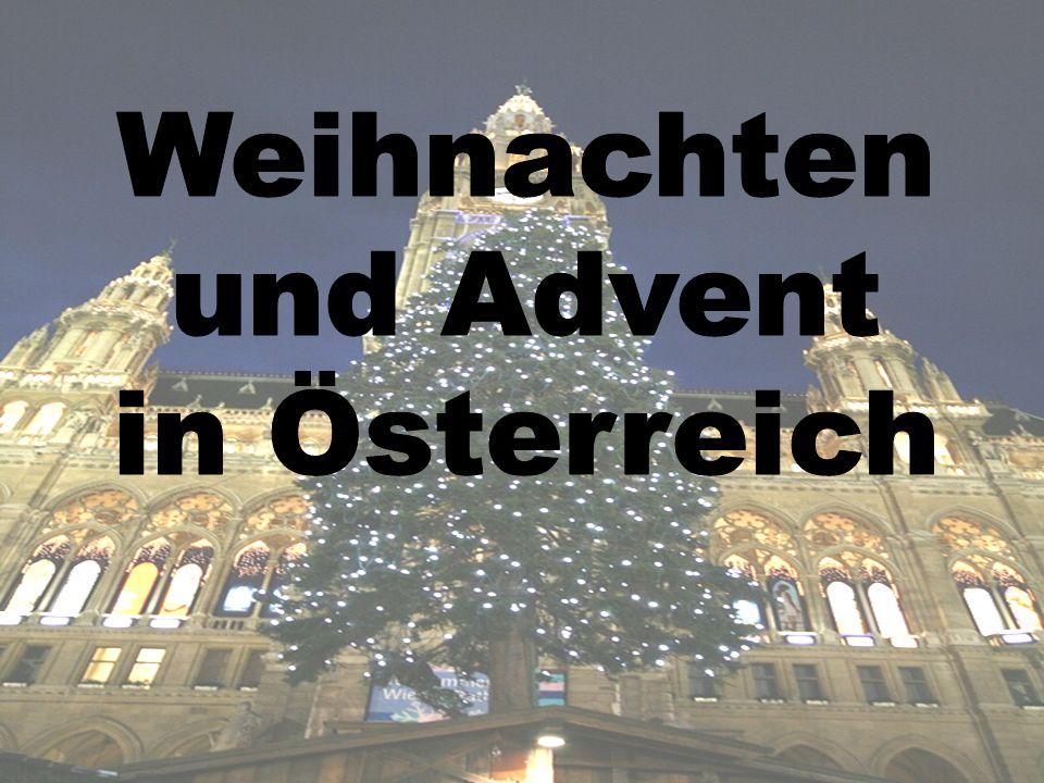 Weihnachten und Advent in Österreich