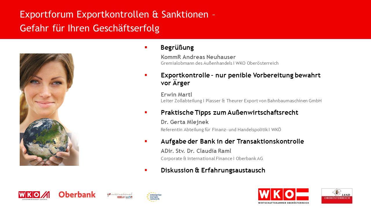 Exportforum Exportkontrollen & Sanktionen –