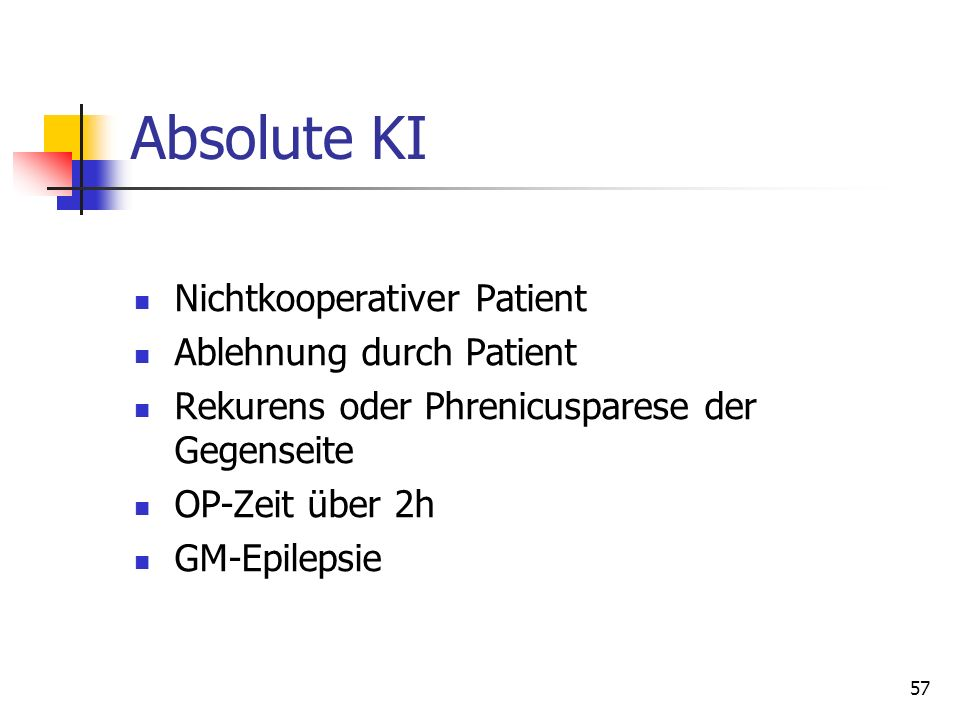 Absolute KI Nichtkooperativer Patient Ablehnung durch Patient