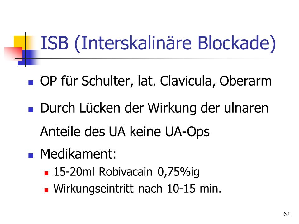 ISB (Interskalinäre Blockade)