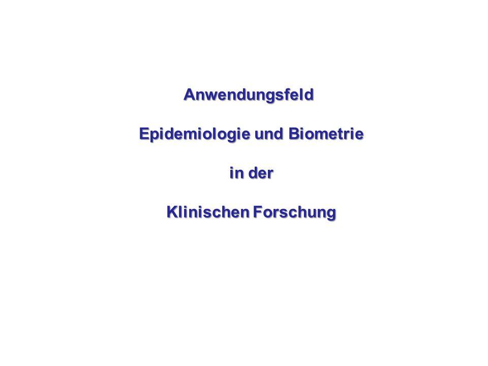 Epidemiologie und Biometrie